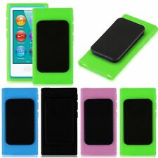 TPU Rubber Skin Case Cover with Belt Clip for iPod Nano 7th Gen 7 7G Generation