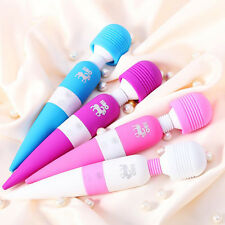 Multi Speed Magic Wand Body Massage Personal Massager Vibrator Waterproof
