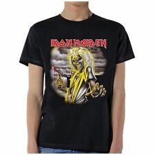 IRON MAIDEN KILLERS WRATHCHILD HEAVY METAL ROCK BAND PRINTED BLACK T SHIRT S-2XL
