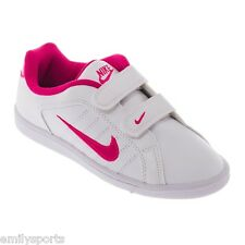 Nike Court Tradition 2 Plus PSV Trainers Girls Kids sizes White/Pink