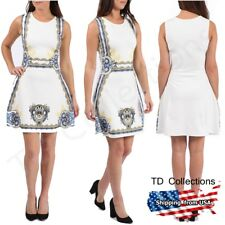WOMENS NEW LADIES CELEB LUCY INSPIRED PRINTED SKATER DRESS- TD Collections