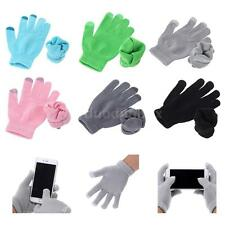 Soft Winter Men Women Touch Screen Gloves Knitted Glove Free Size Mittens M3DY