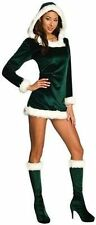 RUBIES SEXY GREEN HELPER CHRISTMAS XMAS HOLIDAY SANTA CLAUS ELF WOMENS COSTUME