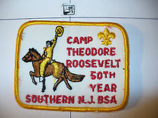 1925-75 Camp Theodore Roosevelt Southern,50th New Jersey Council,OA 107,37,pp,NJ
