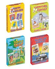 Children's CARD GAMES (Snap/Memory Games/Pairs)