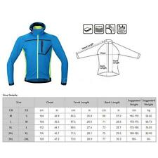 Winter Hooded Coat Thermal Fleece Jacket for Outdoor Cycling Sports Hiking XE1Z