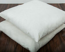 Square Euro Continental Duck Feather Pillow Large Cotton Cushion 60 x 60cm