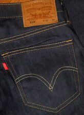 NEW Levis 514 Slim Fit Mid Rise Straight Leg Men's Blue Black Jeans 30 33 36 38