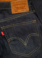 NEW Levis 514 Slim Straight Men's Green Blue Black Beige Jeans Sz 30 32 34 36 40