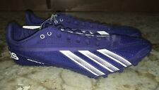 NEW Mens 10 10.5 12 14 ADIDAS Sprint Star IV 4 Blue Track Field Spikes Shoes