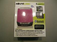 NEW SoundLogic Portable Bluetooth Speaker with Mic DBS-12/1814O