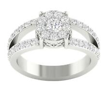 I1/G Real 1.15Ct Diamond Solitaire Ring Annivesary Band 14K Solid Gold Appraisal