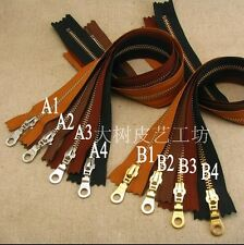 Leather Craft Japan Import YKK Zipper 5# 40cm 45cm50cm Advanced Zipper Craft DIY