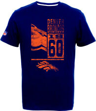 Denver Broncos T-Shirt T-Shirt,NFL Football,100% BW,Logo,Team,from Majestic