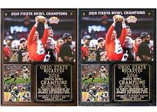 Ohio State Buckeyes 2016 Fiesta Bowl Champions Photo Plaque