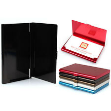 Aluminum Alloy Pocket Business Name Credit ID Card Holder Box Metal Box Case
