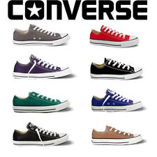 Converse All Star Chuck Taylor Canvas Shoes Low Top All Size Men & Women