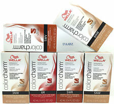 Wella Color Charm Permanent Liquid Hair Color 3NW,5NW,6NW,5WV,5WR & 6R