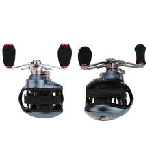 Outdoor Magnetic Baitcasting Fishing Reel 6.3:1 10+1BB Ball Bearing Red S6SD