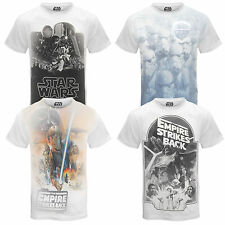 Star Wars Official Darth Vader Stormtrooper Mens Sublimation T-Shirt