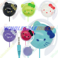 1/6 Color Earbud Earphone Headset Headphone Hello Kitty Hook Pad Pod PC Cell Mp3