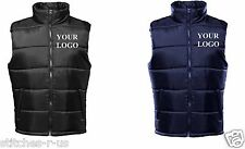 2 Personalised/ Embroidered 2786 Workwear Body warmer/ Gilets (VAT inc.)