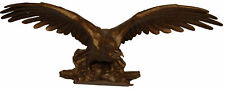 Hickory Manor House Carved Eagle Wall Décor