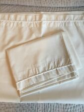 Marks & Spencer Ivory 100% Cotton Housewife Pillow Cases x2