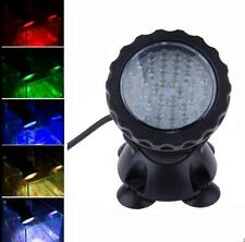 36 LED Aquarium Fish Tank Garden Fountain Pond Underwater Spot Light Submersible