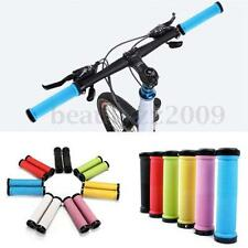 1 Pair Bike Handlebar Cycling Lock On Bicycle Handle Grips Road MTB BMX
