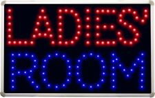 led070 Ladies' Room Female Toilet LED Neon Sign