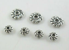 Free Ship 1000/400pcs Tibetan Silver Small Daisy Spacer Beads 4mm/6mm(Lead-free)