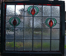 Leaded stained glass window R110b COME SEE ALL MY WINDOWS OR I DELIVER