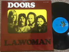 THE DOORS - L.A. WOMAN Very rare 1971 Aussie first Issue blue Label Pressing!