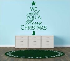 Design With Vinyl We Wish You a Merry Christmas Wall Decal