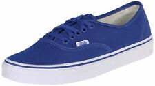 Vans Unisex Authentic Lace Up Skate Shoes-Olympian Blue