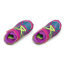 New Balance 890 ~ Infant Shoes KV890TRI ~ Pink / Green Flash & Blue