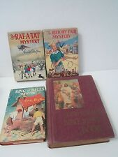 4 x Hardcover Vintage Story Books Enid Blyton x 3 + Bible Story Book