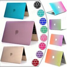Rubberized Hard Case For Macbook Air Pro Retina 13 11 15 12 inch +Keyboard Cover