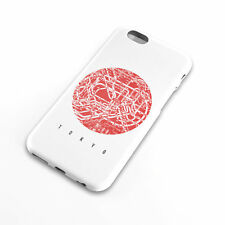 Japanese Flag with Tokyo Subway Map cell phone case, iphone, 6, Samsung Galaxy