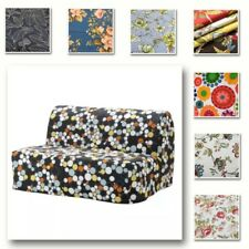 Custom Made Cover Fits IKEA LYCKSELE Sofa Bed, Patterned Replace Sofa Cover