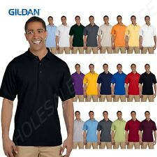 NEW Gildan Mens Ultra Cotton Ringspun Pique Sport Shirt Polo Tee S-3XL M-G380