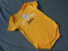 Pittsburgh Steelers One Piece Romper Baby 24 Months NFL Team Apparel Creeper New