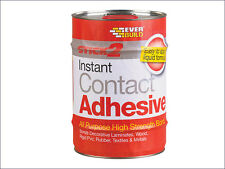 Everbuild Stick 2 All Purpose Contact Adhesive 125ml, 250ml, 750ml, 5 Litres