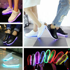 Led Night Light Up Sneaker Men Women Lovers Luminous Lace Up Casual Shoes Sports