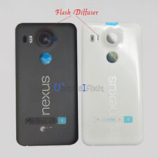 New For LG Google Nexus 5X Battery Housing Door Back Cover W/Flash Diffuser