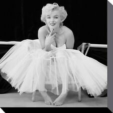 New Ballerina Marilyn Monroe Canvas Print