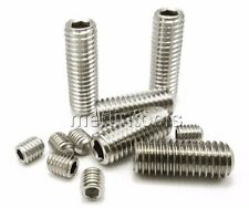 "304 Stainless Steel Select 2-56 to 3/8""-16 Allen Head Hex Socket Screws Bolts"