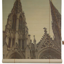 Oriental Furniture St. Patrick's Cathedral Bamboo Roller Blind