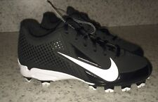 NEW Mens 6.5 7 NIKE Vapor Strike Black MCS Baseball Softball Cleats Youth Boys